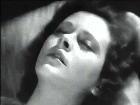 """El primer plano orgásmico de Hedy Lamarr en """"Éxtasis""""."""