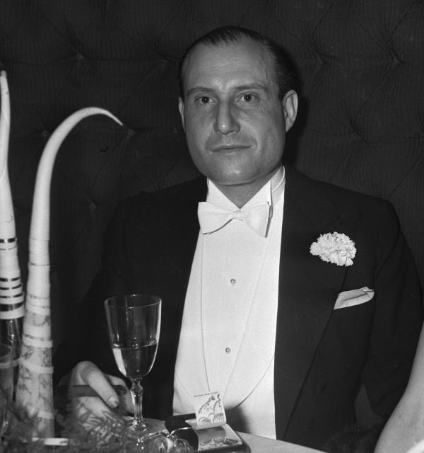 Fritz Mandl, primer esposo de Hedy Lamarr.