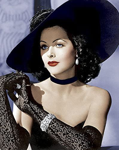 Hedy Lamarr, la inventora más bella del mundo.