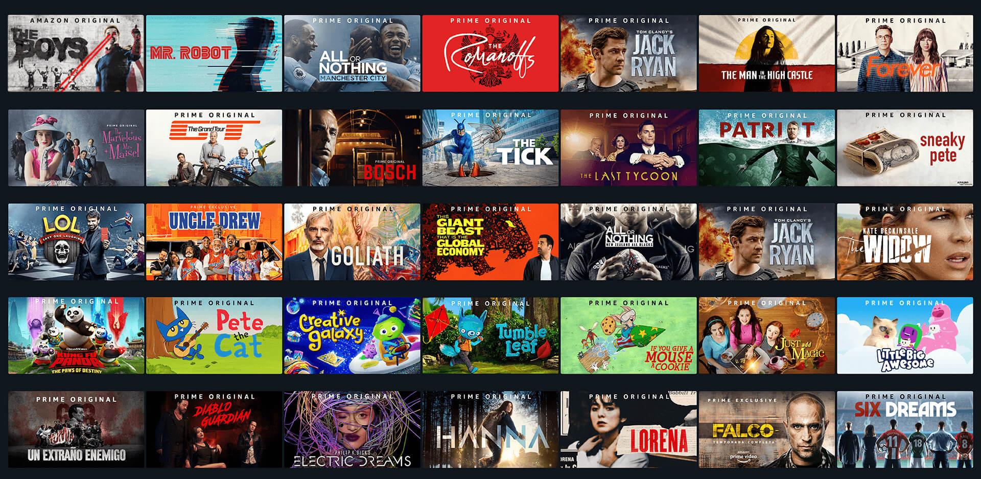 Las mejores series de Amazon Prime Video para ver en 2021