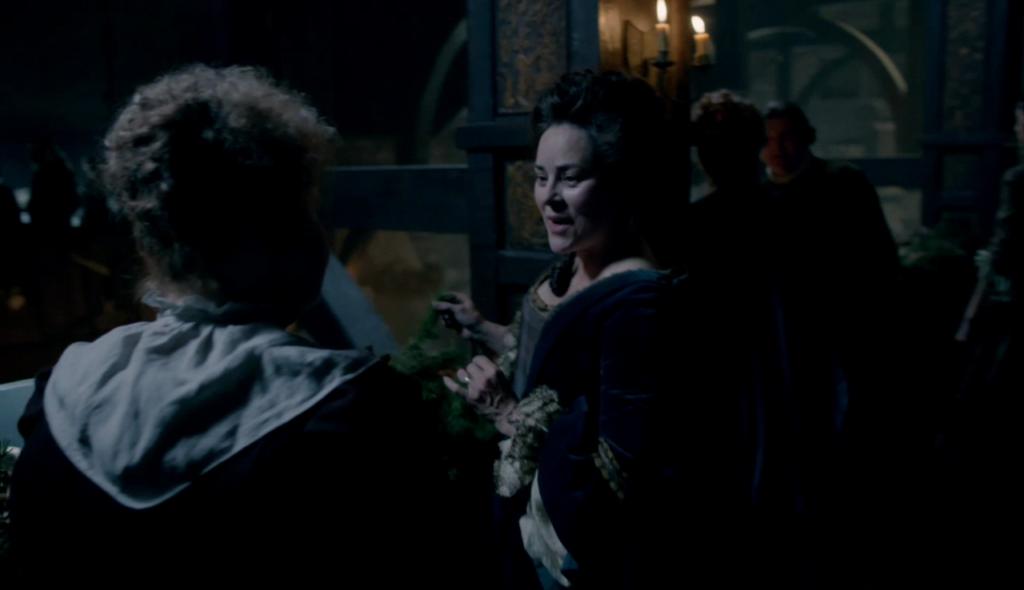 """Cameo de Diana Gabaldon en """"Outlander""""."""