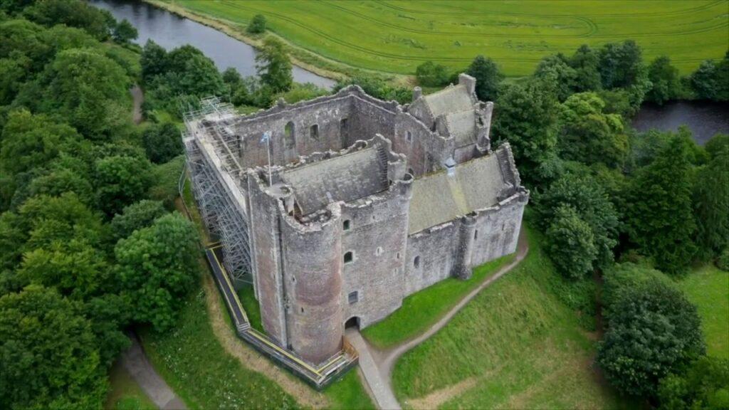 Castillo de Douane, en Escocia.