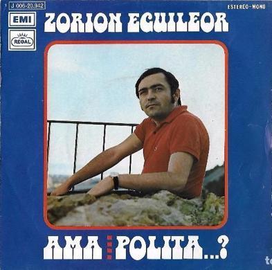 """Disco de Zorion Eguileor, protagonista de """"El hoyo""""."""