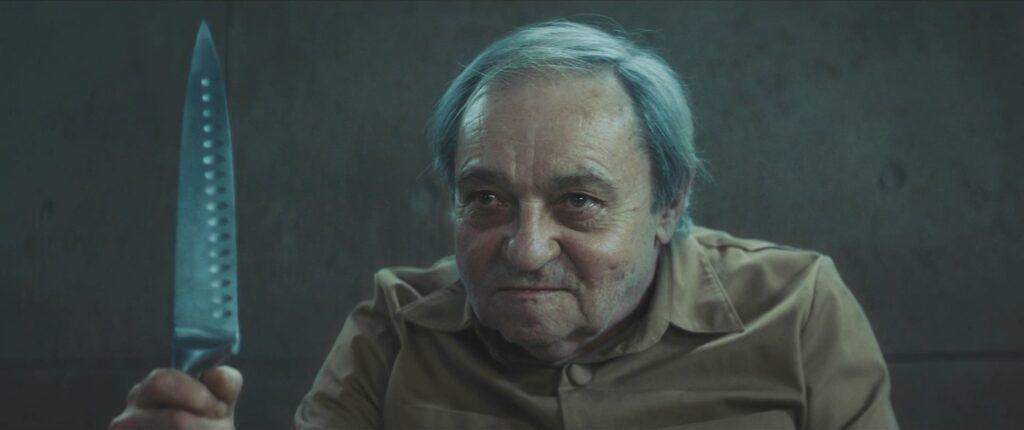 """Zorion Eguileor en """"El Hoyo""""."""