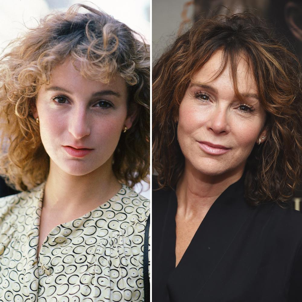Jennifer Grey, antes y después de la cirugía plástica.