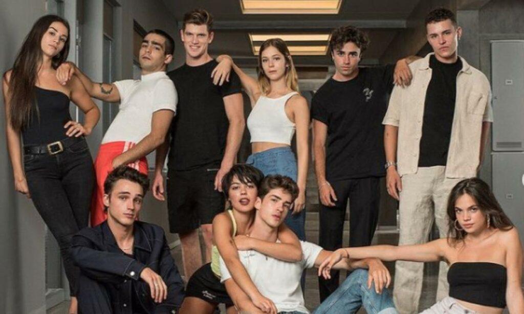 """Los alumnos de """"Élite"""", temporada 5."""