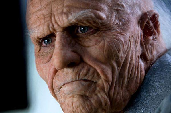 """El anciano protagonista de """"Las vidas posibles de Mr. Nobody""""."""