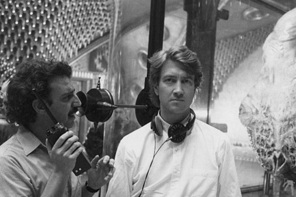 """David Lynch en el rodaje de """"Dune"""" (1984)"""