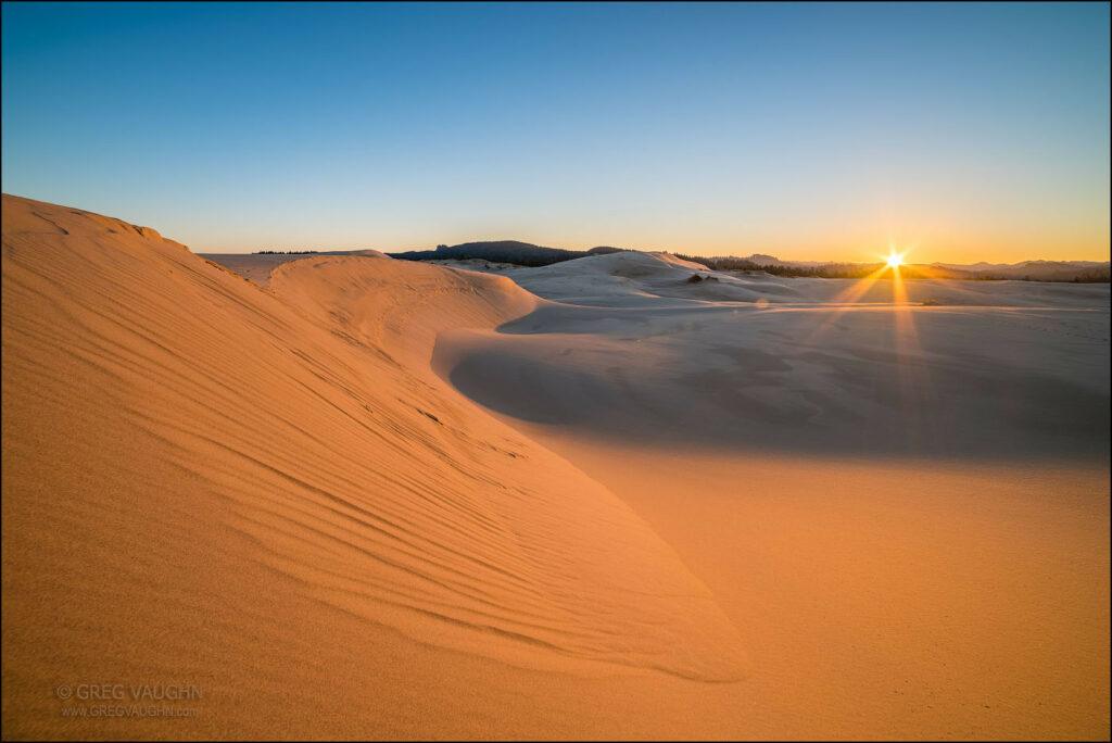 """10 claves de """"Dune"""": las dunas de Oregón."""