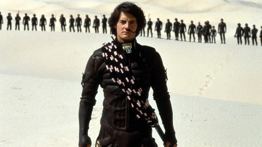 """Kyle MacLachlan en el """"Dune"""" de David Lynch."""