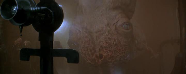 """Una de las criaturas del """"Dune"""" de David Lynch."""