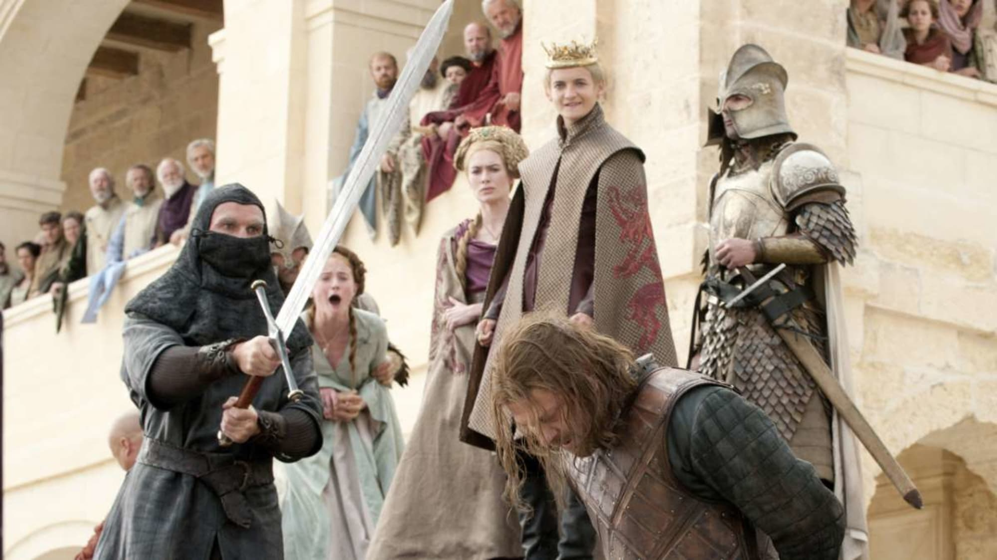 Las 20 mejores muertes en series de TV.