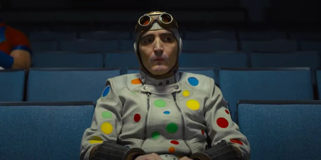 Polka Dot Man, el supervillano que lanza lunares.