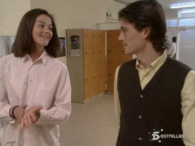 """Julen Guerrero con Isabel Aboy en """"Médico de familia""""."""