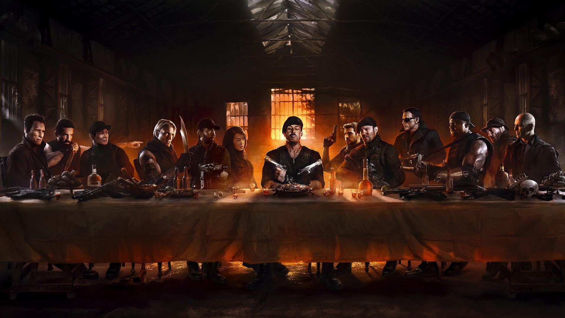 """""""Los Mercenarios 4"""": un reparto alucinante."""