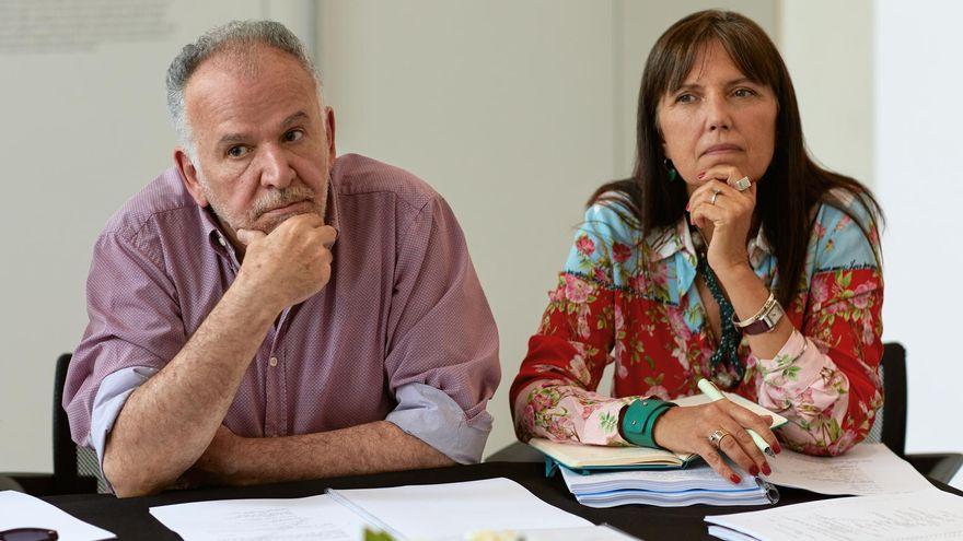 """Marcelo Piñeyro y Claudia Piñeiro, creadores de """"El Reino""""."""